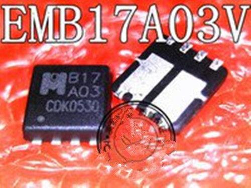2 PCS New EMB17A03V B17A03 B17 A03 QFN8 ic chip