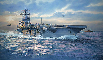 "Tom Freeman /""Pacific Lone Star/""  Artist Proof USS Texas Bombards Iwo Jima 1945"