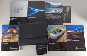 Owner's Manual/Handbook+Wallet Mercedes Benz S-CLASS Type 217 Cabriolet 2016