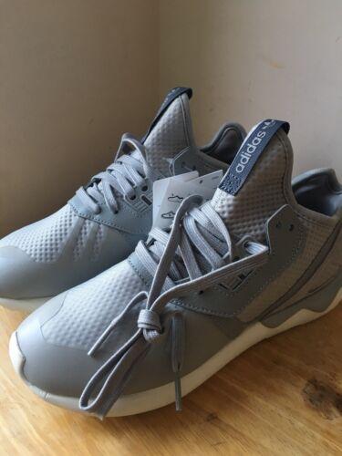 Nuevos 90 Tamaño Unido Adidas £ para gris 5 Reino Zapatillas Zapatos Rrp Tubular Runner mujer r6prxZ