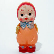 """RARE VINTAGE 3¾"""" CELLULOID KEWPIE BABY WITH BOTTLE TOY DOLL OCCUPIED JAPAN 40's"""