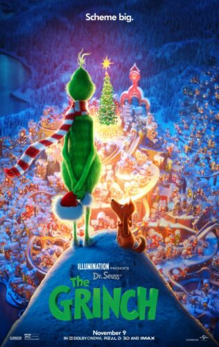 THE GRINCH POSTER A4 A3 A2 A1 CINEMA MOVIE LARGE FORMAT #2