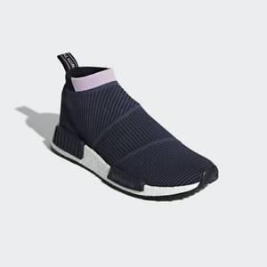 Adidas Originals Women's Navy NMD_CS1 Primeknit Casual Running Shoes B37657