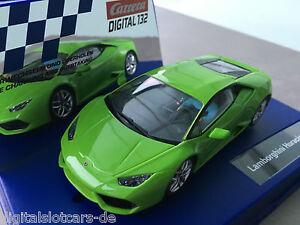 Carrera-Digital-132-30730-Lamborghini-Huracan-LP-610-4-luz-NUEVO
