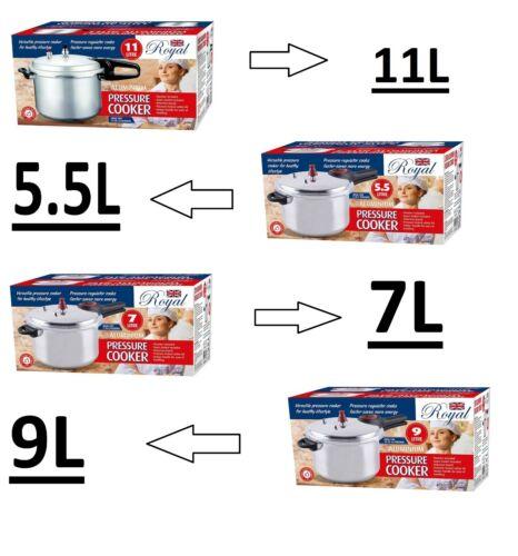 Pressure Cooker  Aluminium Kitchen Catering Home Cookware 5//7//9//11L