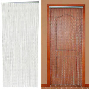 Good Image Is Loading Metal Insect Door Screen Curtain Fly Chain 210