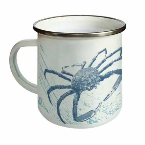 Choix de 2 Designs De émail MUGS-Pieuvre ou Spider Crab-Gratuit 1st Classe Post!!!