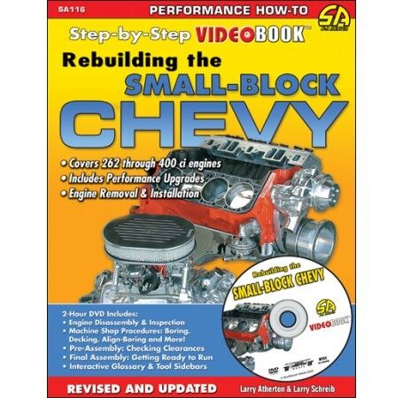 how to rebuild chevy v8 engine book and dvd 283 305 307 327 350 400 rh ebay com Small Block Chevy Fuel Injection 307 Small Block Chevy Rebuild Kit