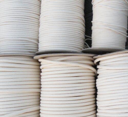Lueur mèche pour les professionnels Lampes Mèche Petroleum huile Diamètre 3-15 MM coton