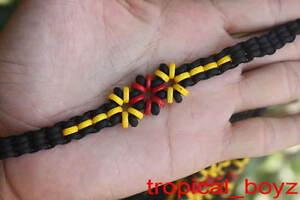 10 Aboriginal Friendship Flowers Coconut Shell Wood Wooden Bracelets Wholesale
