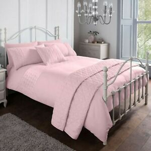 Duvet-Set-Cover-Super-King-Polyester-Luxury-Bedset-Super-Soft-Pink-Bedding-Set