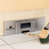 Sweepovac Kitchen Vacuum For Plinths. Powerful Hard Floor Suction Hoover Gadget