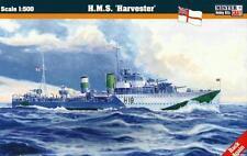 HMS HARVESTER - WW II ROYAL NAVY H-CLASS DESTROYER 1/500 MISTERCRAFT
