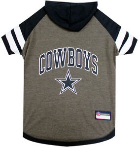 Dallas-Cowboys-NFL-Pets-First-Officially-Licensed-Dog-Pet-Hoodie-Tee-Shirt-XS-L
