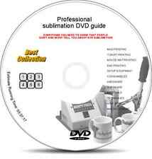 Heat Press Sublimation & Screen Printing DIY DVD Guides