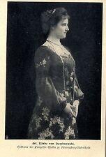 Käthe von Dambrowski Hofdame Prinzessin Thekla zu Schwarzenburg-Rudolfstadt 1904