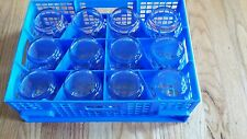 AMERICAN AIRLINES NEW LOGO SET OF 12 BUSINESS / FIRST CL. ROCKS GLASSES