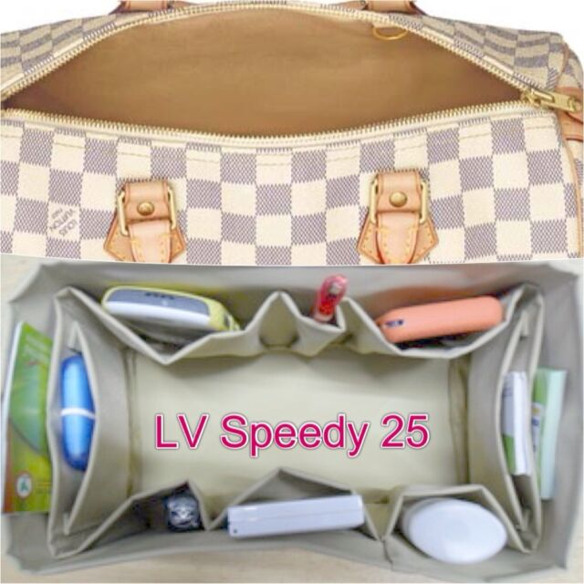 bdfb067a8506 Bag Organizer Shaper Internal for LV SPEEDY 25,TOTALLY MM,Hamstead PM in  Beige