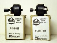 Ho Train Ahm/rivarossi Two (2)new Motors With Boxes Old Stock