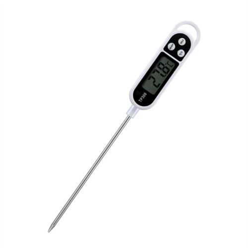 Digital Thermometer Probe For Kitchen Meat Water Milk Food Cooking Pen Style New