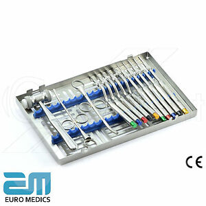 Osteotome Set Sinus Lift Instruments Dentist Kit Dental Implantology Surgery Lab - <span itemprop=availableAtOrFrom>London, Middlesex, United Kingdom</span> - We have a 30 day return policy and a 3 Year Warranty on parts. In case of returns, please contact us to obtain a Return Merchandise Authorization (RMA) number. After you recieve - London, Middlesex, United Kingdom