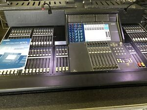 yamaha m7cl 48 version 3 digital mixer m7cl 48 mixing console with meter bridge ebay. Black Bedroom Furniture Sets. Home Design Ideas