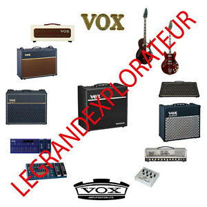 Details about Ultimate VOX Operation Repair Service Manual Schematics on
