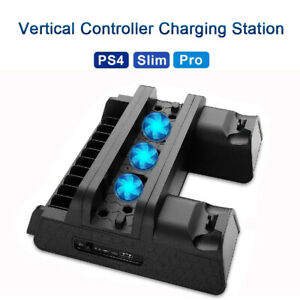 Vertical-Stand-Cooling-Fan-Holder-CoolerFor-SONY-Playstation-4-PS4-Slim-Pro