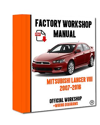 MITSUBISHI LANCER 2004-2007 FACTORY WORKSHOP SERVICE REPAIR MANUAL