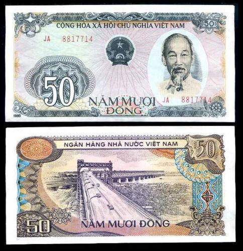 VIETNAM 50 DONG 1985 P 97 XF
