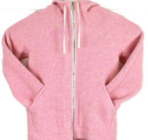 Lululemon So Sherpa Wool Blended Hooded Jacket pink  size 4
