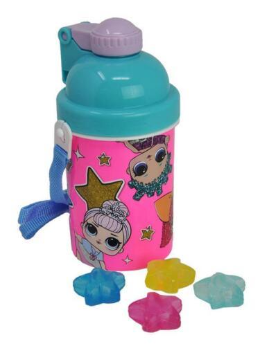 LOL Surprise Water Bottle w// Star Shaped Reusable Ice Cubes 14oz