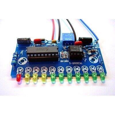 LM3915 10LED Audio Level Indicator DIY VU Meter Preamp Power Amplifier Indicate