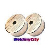 """WeldingCity 2-pk ER70S-6 0.035"""" 2-lb Roll Mild Steel MIG Welding Wire(0.9mm)"""