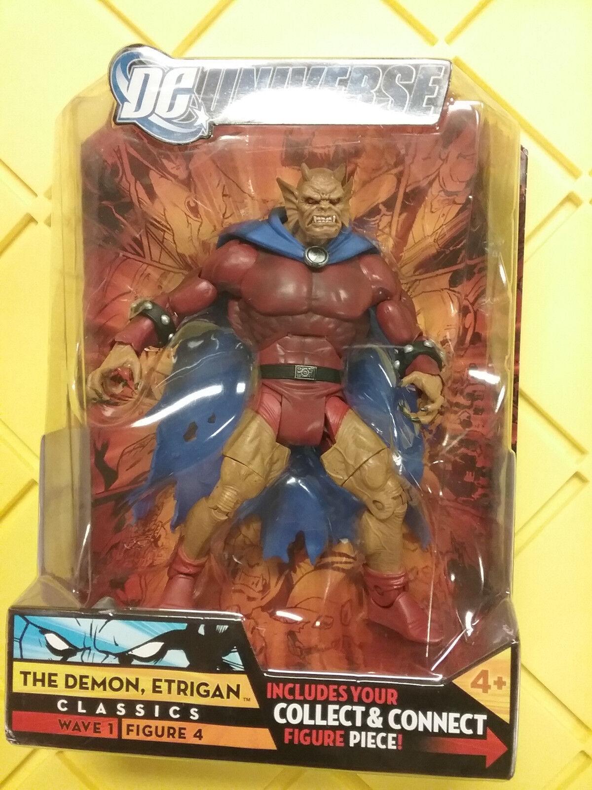 DC Universe Classics Demon Entrigan Rex Element Man  C&C NEW