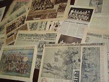 1950 FIFA WORLD CUP CHAMPIONS IN PEÑAROL URUGUAY SOCCER CLUB NEWSPAPER LOT