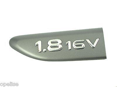 Genuine New RENAULT 1.8 16V BADGE Emblem For Laguna II Mk2 2000-2007 Sport dCi