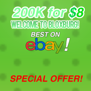 Roblox Bloxburg Money 200k For 8 Best On Ebay Ebay