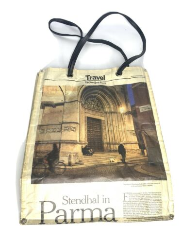 Unique Newspaper Purse Handbag Ladies Bag New York