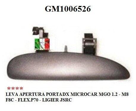 LEVA APERTURA PORTA DX MICROCAR MGO 1.2 M8 F8C FLEX LIGIER JSRC GM1006526