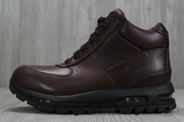 bf2e7f9d7b5 39 Nike Air Max Goadome Deep Burgandy Boots Leather Mens Sz 9-13 865031 604