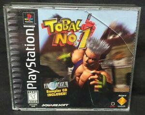 Tobal No. 1 - Playstation 1 2 PS1 PS2 Game Rare Tested Works! Near Mint Disc