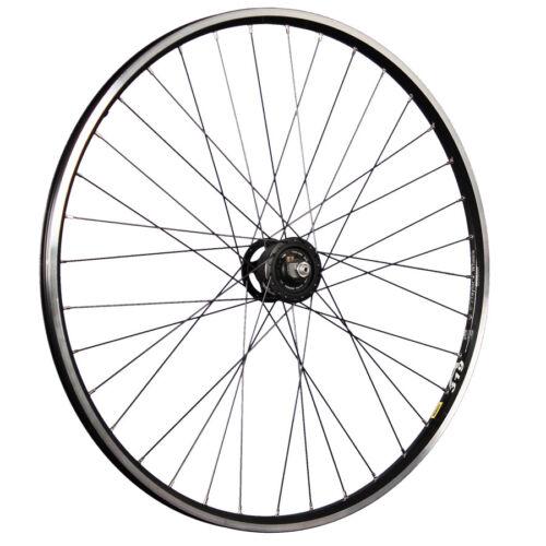 Taylor Wheels 28 in Vélo Roue avant Mavic Jante Deore XT Moyeu Dynamo Noir