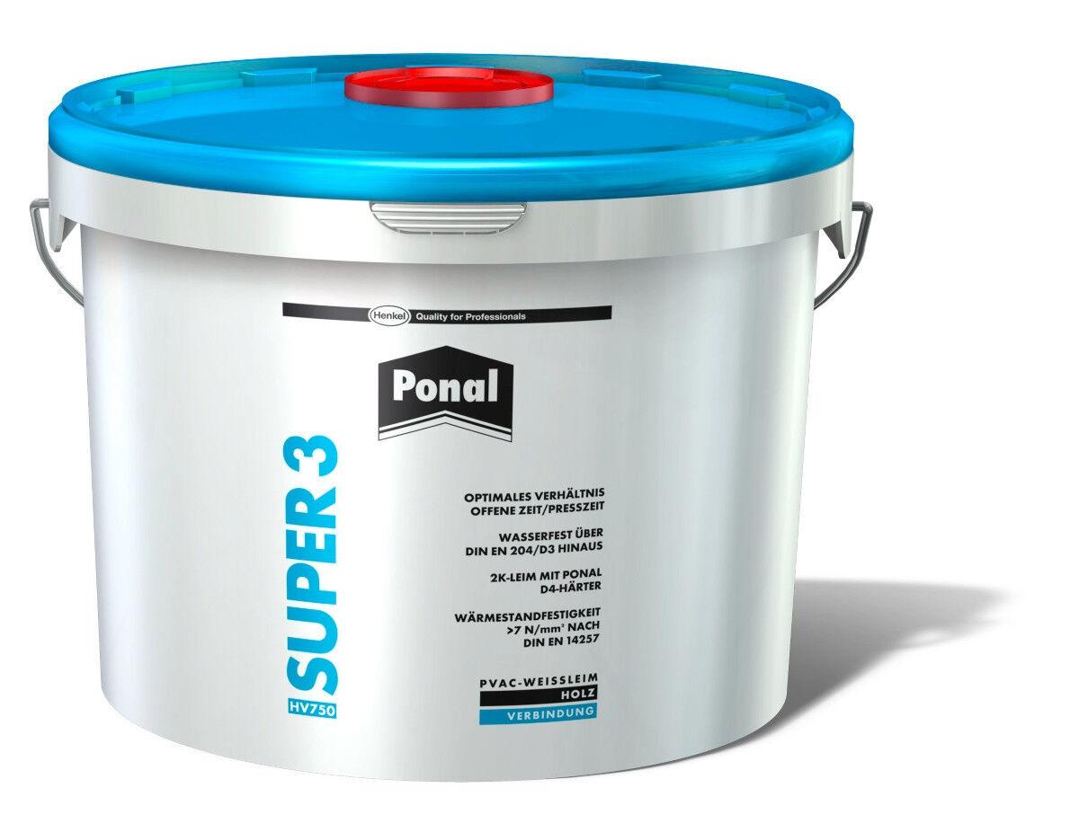 Ponal Super 3 Wasserfester Holzleim 10 kg