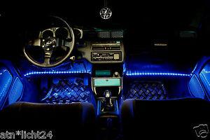 Awesome Das Bild Wird Geladen 2x 24V 33cm BLAU LED Leiste Amp LKW