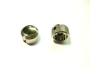 Duesenberg-Controllo-Manopola-Pulsante-trimmer-nichel-18-mm-1pc-NUOVO