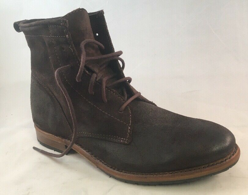 Vintage Shoe Company Rutherford Moka Suede Uomo Stivali
