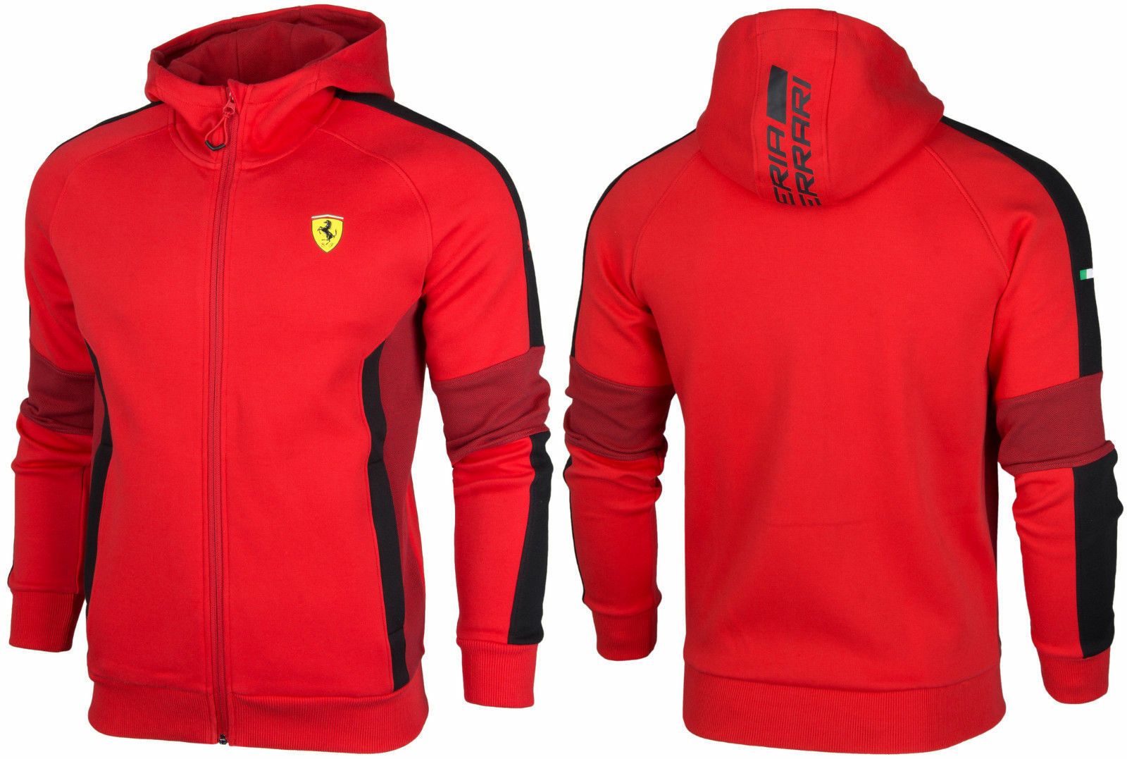 ferrari img true puma vintage womens red s medium clothing women jacket products