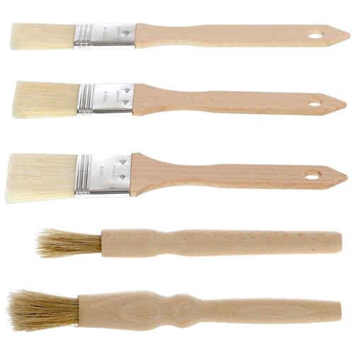 Bütic Holz Backpinsel rund flach