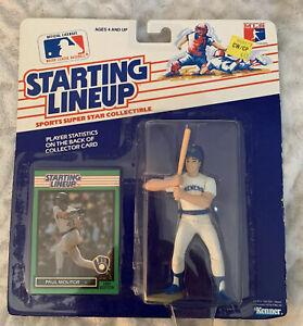 1989 - MLB Starting Lineup Paul Molitor - Milwaukee Brewers Vintage NOS